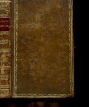 L'Abeille Chretienne Ou Poesies Religieuses Extraites Des Meilleurs Auteurs A L'Usage De La Jeunesse De L'Un Et De L'Autre Sexe - Couverture - Format classique