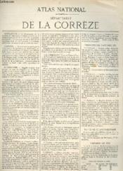 Atlas Mondial. N°24. Departement De La Correze - Couverture - Format classique