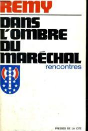 Dans L'Ombre Du Marechal - Couverture - Format classique