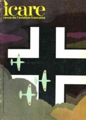 Icare N°53 -1939-40 / La Drole De Guerre - Couverture - Format classique