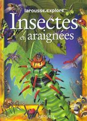 Insectes Et Araignees - Intérieur - Format classique
