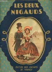 Les Deux Nigauds. - Couverture - Format classique
