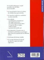 Easy steps term bep eleve 97 - 4ème de couverture - Format classique