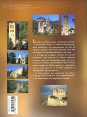 La france romane - 4ème de couverture - Format classique