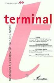 Terminal 68 - Couverture - Format classique