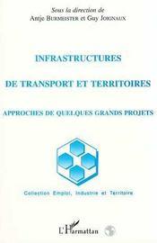 Infrastructures de transport et territoires ; approches de quelques grands projets - Intérieur - Format classique