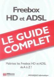 Freebox hd et adsl - Intérieur - Format classique
