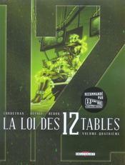 La loi des 12 tables t.4 - Intérieur - Format classique