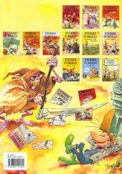 Pierre Tombal t.15 ; chute d'os - 4ème de couverture - Format classique