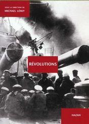 Revolutions ; Photographies - Intérieur - Format classique
