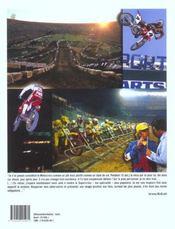La grande histoire du supercross - 4ème de couverture - Format classique