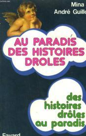 Au Paradis Des Histoires Droles. - Couverture - Format classique