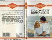 Vous Avez Dit Romantique ? - First Come Marriage - Couverture - Format classique