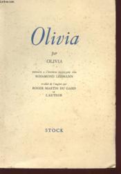 Olivia - Couverture - Format classique