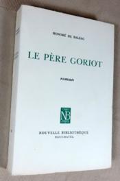 Le père Goriot. - Couverture - Format classique