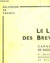 Le Livre Des Brevets (Carnet De Badges) - Couverture - Format classique