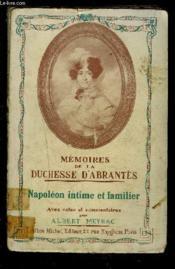 Memoires De La Duchesse D Abrantes- Napoleon Intime Et Familier- Tome Iv - Couverture - Format classique