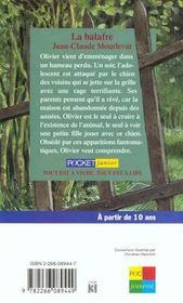 Balafre - 4ème de couverture - Format classique