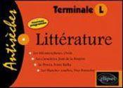Litterature Bac 2006 - Intérieur - Format classique