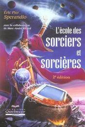 L'école des sorciers et sorcières (2e édition) - Intérieur - Format classique