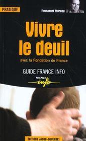 Vivre le deuil ; avec la Fondation de France - Intérieur - Format classique
