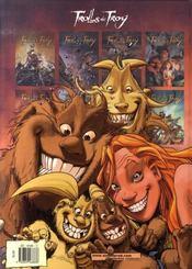 Trolls de Troy T.9 ; les prisonniers du Darshan t.1 - 4ème de couverture - Format classique