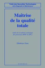 Maitrise de la qualite totale - Couverture - Format classique