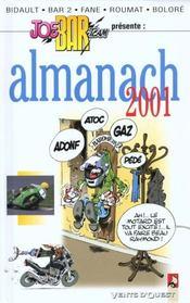 Almanach Joe Bar Team 2001 - Intérieur - Format classique