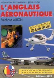 Anglais Aeronautique - Couverture - Format classique