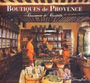 Boutiques de Provence - Couverture - Format classique
