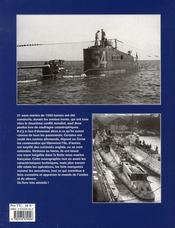 Les sous-marins de 1500 tonnes - 4ème de couverture - Format classique