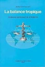 Balance Tropique - Evidences Bio. Medecine - Couverture - Format classique