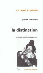 Distinction - Intérieur - Format classique