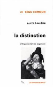Distinction - Couverture - Format classique