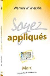 Soyez appliqués - Couverture - Format classique