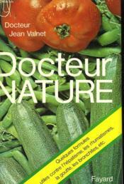 Docteur Nature. - Couverture - Format classique