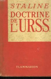 Doctrine De L'U.R.S.S. - Couverture - Format classique