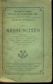Les Ressuscites. - Couverture - Format classique