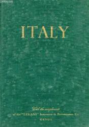 Italy, History, Art, Landscape - Couverture - Format classique