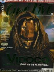 CINE LIVE - N° 50 - VIDOCQ - Depardieu et Pitof, il était une fois en numérique - Couverture - Format classique