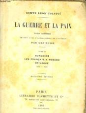La Guerre Et La Paix - Tome Ii - Borodino - Les Francais A Moscou - Epilogue 1812-1829 - Couverture - Format classique