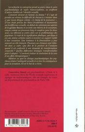 Ambiguites sexuelles ; sexuation et psychoses - 4ème de couverture - Format classique