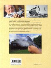 Le pigeon voyageur ; de l'antiquité à la colombophilie moderne - 4ème de couverture - Format classique