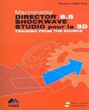 Director 8.5 Schockwave ; Studio Pour La 3d - Intérieur - Format classique