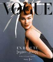 Vogue en beauté ; 1920-2007 - Intérieur - Format classique