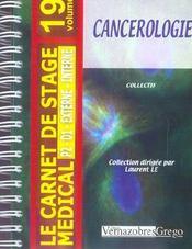 Cancérologie - Intérieur - Format classique