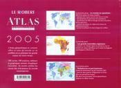 Atlas Geopolitique Et Culturel - 4ème de couverture - Format classique