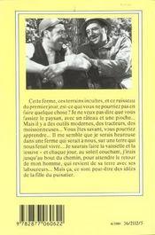 La Fille Du Puisatier - 4ème de couverture - Format classique