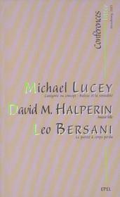 Conferences litter strasbourg, 2003 - Intérieur - Format classique