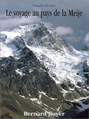 Le Voyage Au Pays De La Meije - Couverture - Format classique